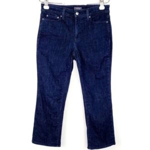 NYDJ Jeans Size 8P Marilyn Ankle Lift Tuck Tech